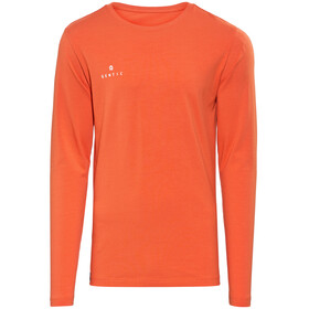 Gentic Lines Game Longsleeve Shirt Men orange